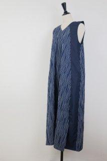 rikolekt | RIPPLES DRESS (navy) | ワンピース【リコレクト シンプル おしゃれ ワンピース ネイビー】