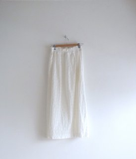 rikolekt | FRAGILE SKIRT (white) | ボトムス【リコレクト ホワイト 白 ギンガム おしゃれ シンプル】