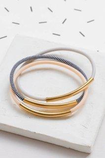 Shlomit Ofir | Memphis Bracelet Set (gold) | ブレスレット