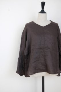 MB | STITCH EMB blouse (brown) | トップス