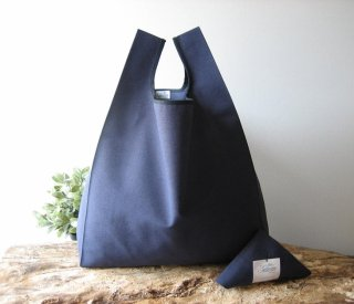 【ネコポス送料無料】ATELIER SETTEMBRE | MINIMALIST TOTE BAG (blue) | トートバッグ/ショッピングバッグ