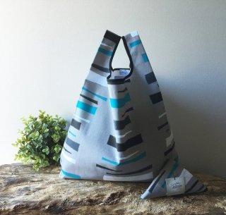 【ネコポス送料無料】ATELIER SETTEMBRE | NORDIC DESIGN TOTE BAG (gray) | トートバッグ/ショッピングバッグ
