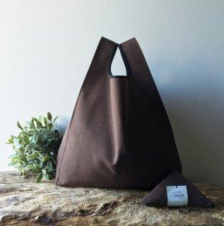 【ネコポス送料無料】ATELIER SETTEMBRE | MINIMALIST TOTE BAG (brown) | トートバッグ/ショッピングバッグ