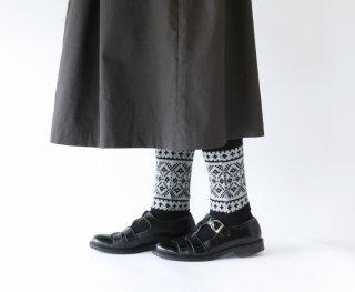 French Bull (フレンチブル)   ノルディックレッグウォーマー (グレー)   ソックス【シンプル 可愛い 靴下】