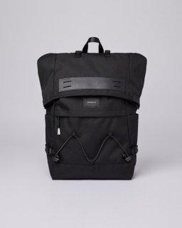 SANDQVIST | CHRISTOFFER (black) | バッグ【北欧 シンプル スウェーデン リュック】