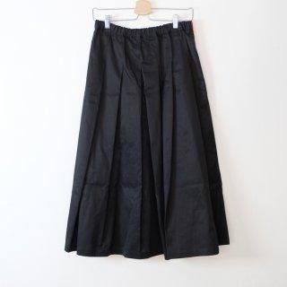 STAMP AND DIARY   タックプリーツスカート (black)   ボトムス