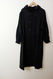rikolekt | WOOL CHINO COAT (black) | アウター【送料無料 リコレクト シンプル おしゃれ コート】