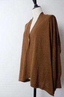 utilite | ドルマンカーディガン (brown) | トップス