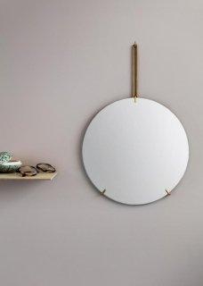 MOEBE   WALL MIRROR (brass)   30cm   ウォールミラー/鏡【北欧 リビング インテリア シンプル】