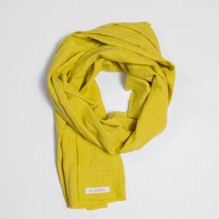 two LINEN | Linen scarf【リネン 麻 ナチュラル スカーフ ショール】