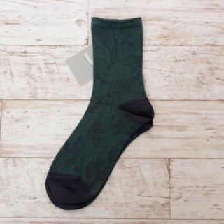 arome de muguet | prairie (green) | ソックス【靴下 かわいい ナチュラル 草原】