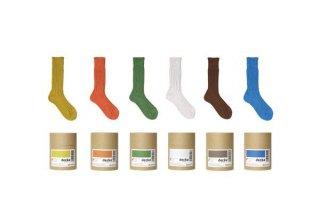 decka -quality socks- | Cased heavy weight plain socks -1st collections- | ソックス【デカ 靴下 シンプル かわいい 無地】