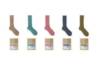 decka -quality socks- | Cased heavy weight plain socks -3rd collections- | ソックス【デカ 靴下 シンプル かわいい 無地】