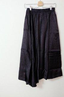 the last flower of the afternoon | 夜一夜の semicircular skirt (navy) | ボトムス【レディース きれいめ シンプル おしゃれ】