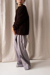hatsutoki | furmer (ダークブラウン) | トップス【送料無料 ハツトキ ナチュラル 播州織】