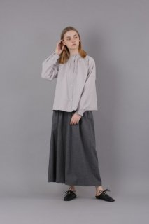 KELEN (ケレン) | Tuck Collar Blouse