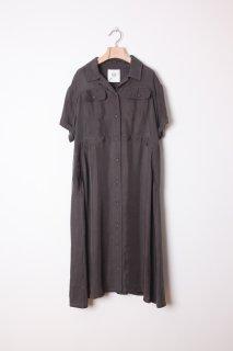 bedsidedrama   Disguise One-piece (charcoal)   ワンピース【送料無料 ベッドサイドドラマ 個性的 おしゃれ】