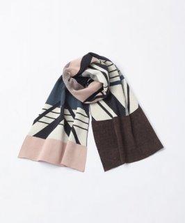 Tricote | ヘリンボンリバーマフラー (pink) | マフラー【お出かけ プレゼント 冬】