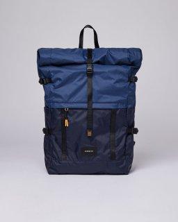 SANDQVIST | BERNT LIGHTWEIGHT (multi navy blue/evening blue) | バッグ【サンドクヴィスト 北欧 シンプル スウェーデン リュック】