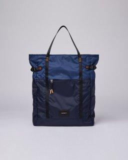 SANDQVIST | ROGER LIGHTWEIGHT (multi navy blue/evening blue) | 2 wayトートバッグ【サンドクヴィスト 北欧 スウェーデン リュック】