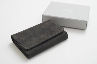 REN   スモーク・L型ウォレット (dark gray)   財布
