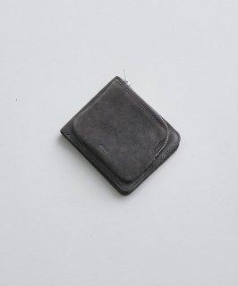 REN   スモーク・外ポケウォレット (darkgray)   レザー財布