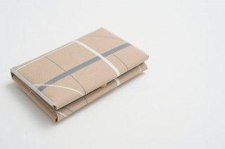 TRICOTE | ランダムラインカードケース (l.gray) 【トリコテ リサイクルレザー ケース 収納 かわいい】