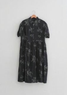the last flower of the afternoon   咲き添ふgather shirt dress   ワンピース【送料無料 ザラストフラワーオブジアフタヌーン レディース】