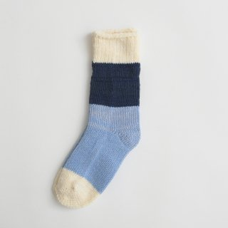 ASEEDONCLOUD | seasonal socks (off white) | ソックス 靴下 配色 アシードンクラウド おしゃれ