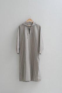 ASEEDONCLOUD | Sailor work dress (grayish beige) | ドレス ワンピース アシードンクラウド 送料無料
