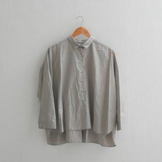 STAMP AND DIARY | ビッグシャツ (grey) | 送料無料 ブラウス グレー スタンプアンドダイアリー レディース