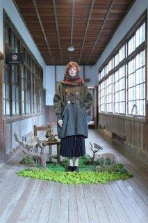 bedsidedrama | Duffle Mods Coat (khaki) | 送料無料 アウター 防寒 ベッドサイドドラマ