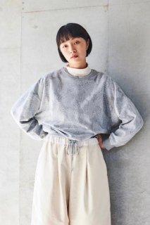 sneeuw (スニュウ) | Train chair ショートプルオーバー (grey) onesize | 送料無料 トップス プリント