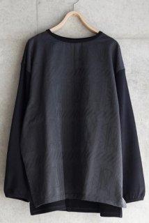 sneeuw (スニュウ) | ウィンドウJQプルオーバー (charcoal grey) size1 | 送料無料 トップス プルオーバー