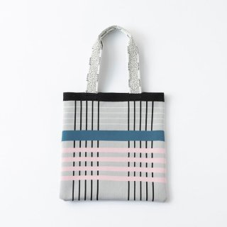 TRICOTE   CHECK KNIT TOTE BAG (light gray)   送料無料 トートバッグ トリコテ