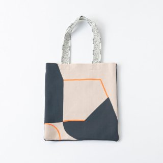 TRICOTE   PUZZLE LINE KNIT TOTE BAG (beige)   送料無料 トートバッグ トリコテ