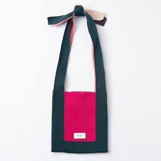 TRICOTE   ARRANGE KNOT BAG (green)   送料無料 トートバッグ トリコテ