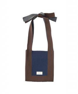 TRICOTE   ARRANGE KNOT BAG (brown)   送料無料 トートバッグ トリコテ