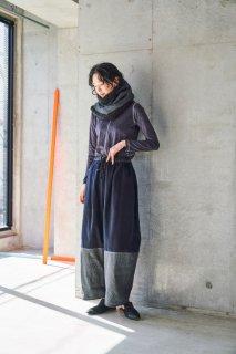 sneeuw (スニュウ) | ウィンドウJQネックウォーマー (charcoal grey) | 送料無料 マフラー ネックウォーマー 防寒