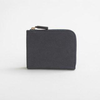 POMTATA (ポンタタ) | HAK L Zip Short Wallet (midnight) | 財布 ショートウォレット国産 レザー