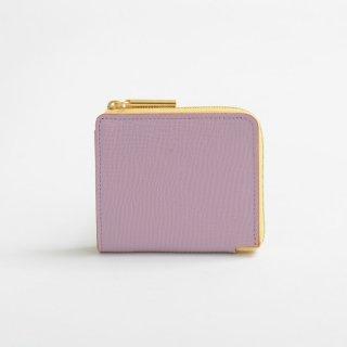 POMTATA (ポンタタ) | LIO L Zip Box Short Wallet (m.pink) | 財布 ショートウォレット 国産 レザー