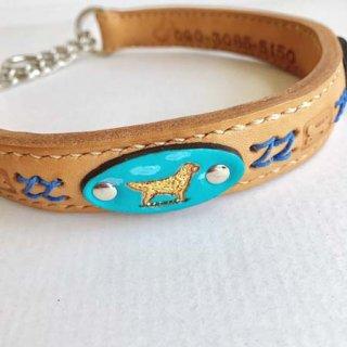 大型犬用手縫いナチュラルゴールデンレトリーバーカラー