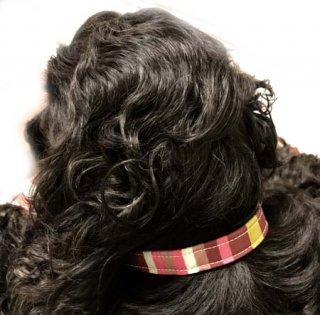 小型犬用ピンク&ボルドー系マルチ