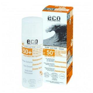 エココスメティクス<br>サンクリーム サーフ&サン 色付き LSF50 50ml