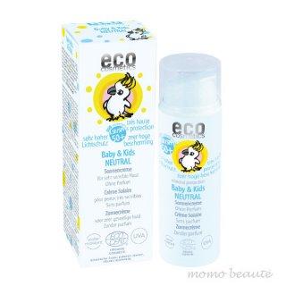 エココスメティクス<br>ベビー&キッズ ニュートラルサンクリーム LSF 50+(無香料) 50ml