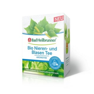 【オーガニック】Bad Heilbrunner(バードハイルブルンナー)<br>メディカルハーブティ《腎臓と膀胱ケア》