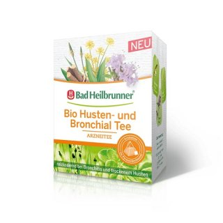 【オーガニック】Bad Heilbrunner(バードハイルブルンナー)<br>メディカルハーブティ《咳、気管支炎へ》