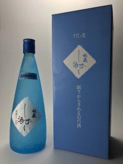 七年熟成 しずく酒 千代の亀酒造 720ml