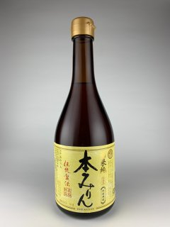 福来純 伝統製法本みりん 白扇酒造 500ml