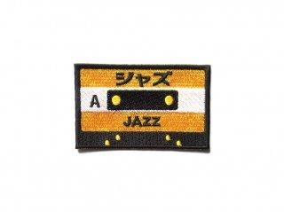 カセットテープワッペン(ジャズ)
